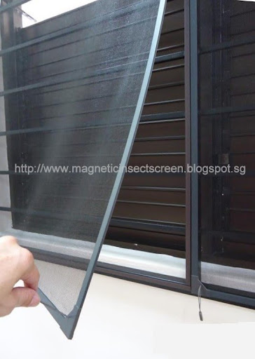 DIY Magnetic Mosquito / Insect Screen Kit - 1.5m x 1.0m (D8)