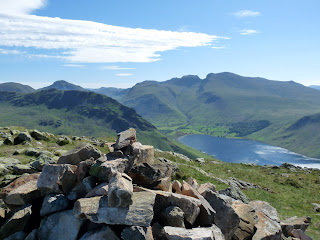 Middle Fell and the Scafells