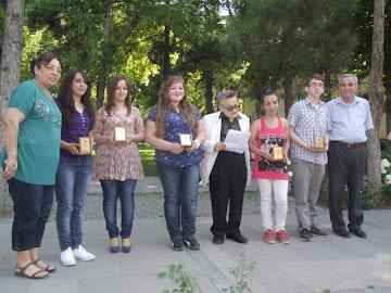 Liseli Şairler Ödül Töreni