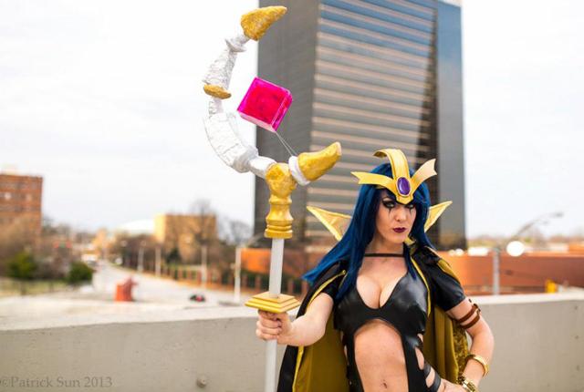 Ngắm cosplay LeBlanc của cosplayer Kristen Hughey - Ảnh 3