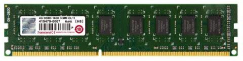 Memori RAM DDR3 Non-ECC 4GB 1600 Mhz