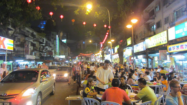 Jalan Alor - chicken wing central.