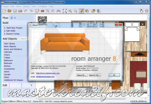 Room Arranger 8