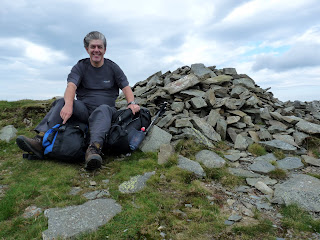 That's me on Ladyside Pike. My hair tells the story of how windy it was!! I had to battle to put my rucksack back on!