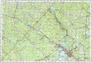 Map 100k--p35-117_118--(1982)