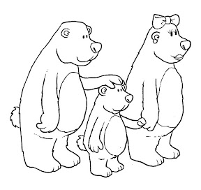 COSILLAS DE INFANTIL Cuento Ricitos de Oro y los tres osos