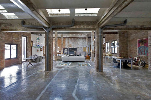 Modern Rustic Warehouse Conversion   Hall