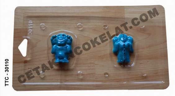 Cetakan Coklat TTC30110 Monster Inc Disney Pixar cokelat