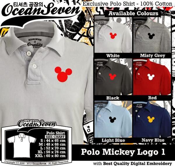 POLO Mickey Mouse 1 Logo distro ocean seven