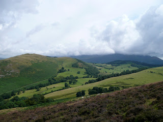Low cloud on Skiddaw