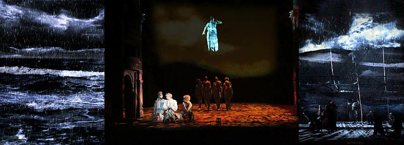 The Tempest: Video and Lighting Design
