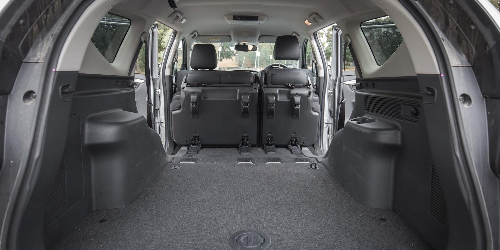 Khoang hành lý của xe rộng nhất hiện nay trên thị trường, ở một số thị trường sẽ có hàng ghế thứ 3, và ở một số nơi khác chỉ có 2 hàng