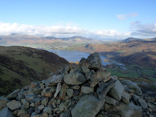 Blea Crag summit cairn