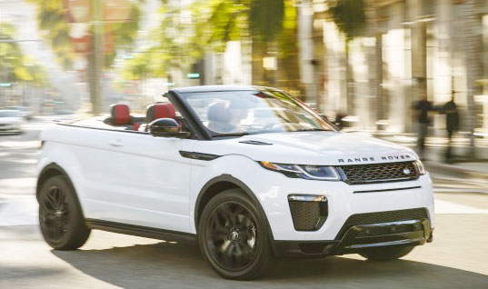 2016 Range Rover Evoque Convertible review, cost and inside feature