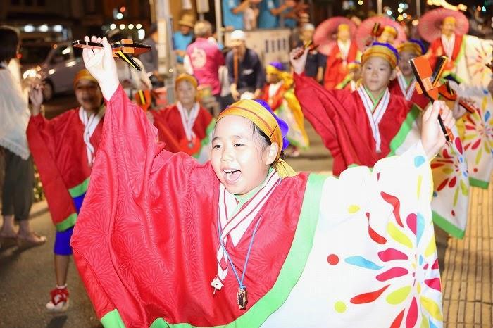 第60回よさこい祭り☆本祭2日目・上町競演場91☆上2目2944