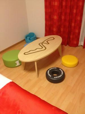 спальня Тимо Глока на Гран-при Японии 2012