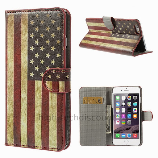Housse etui coque portefeuille pour apple iphone 6s plus 5 for Housse iphone 6 s plus