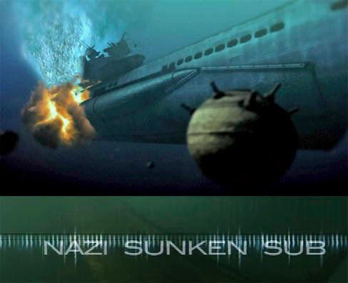 Polowanie na hitlerowskiego U-Boota / Nazi Sunken Sub (2011) PL.TVRip.XviD / Lektor PL