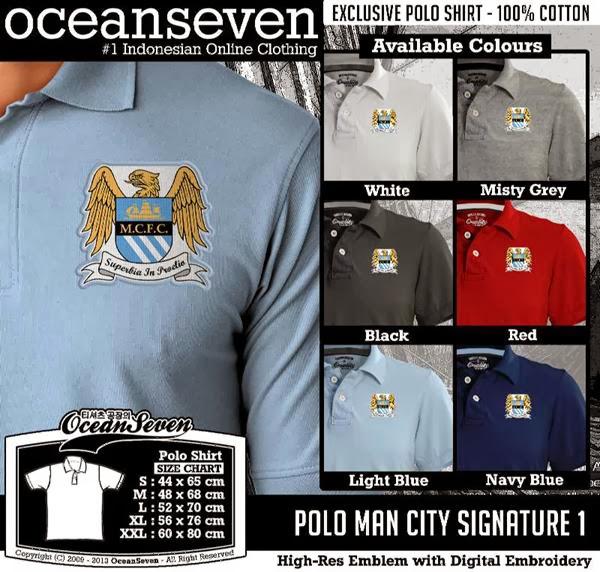 POLO Man City Manchester City Signature distro ocean seven