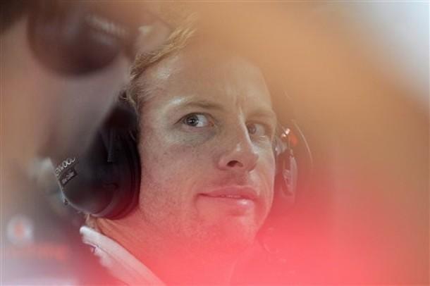 Дженсон Баттон на Гран-при Индии 2011