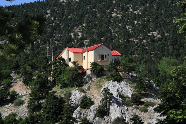 Parnitha, Mpafi refuge