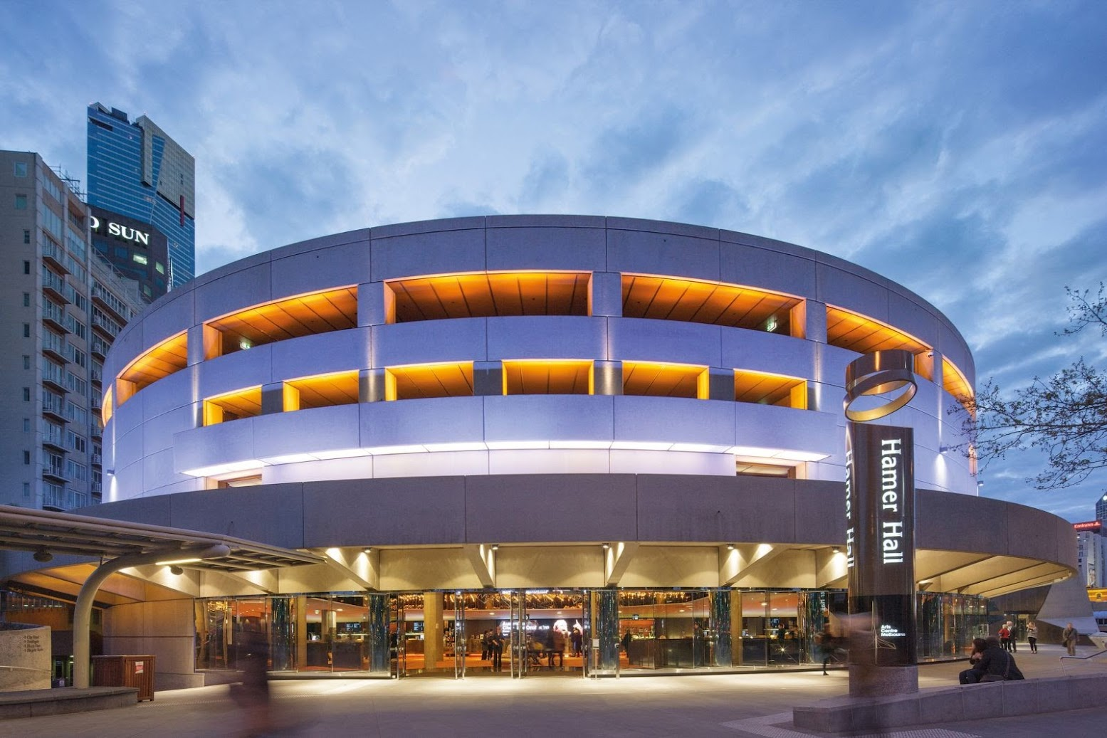 Southbank Victoria, Australia: [HAMER HALL BY ARM ARCHITECTURE]
