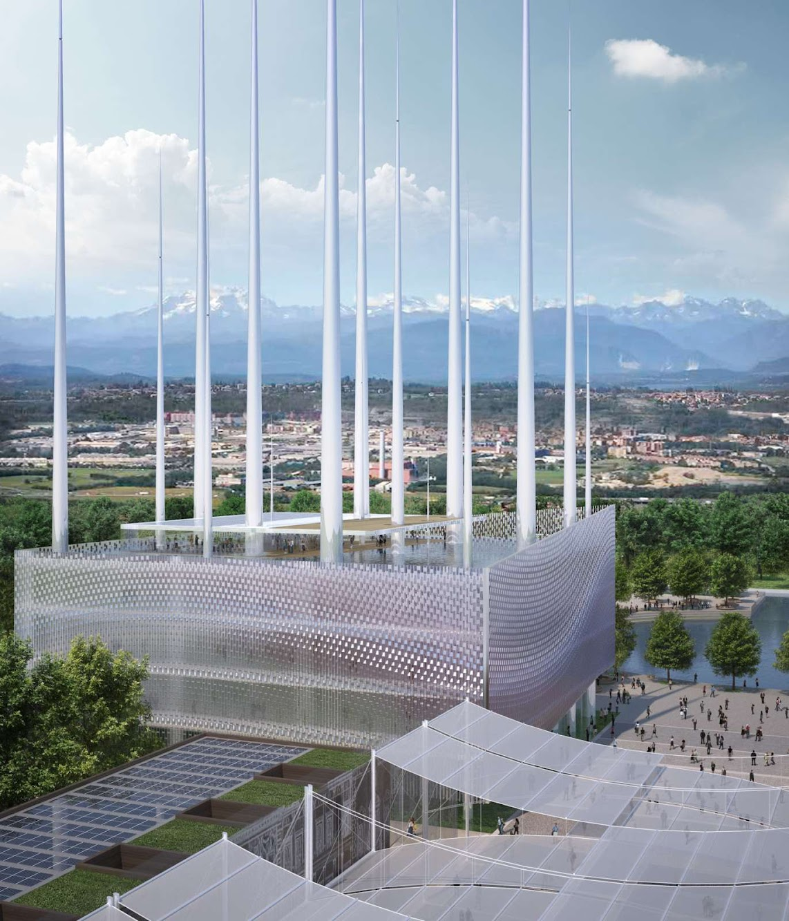 Italian Pavillion Expo 2015 by Parkassociati