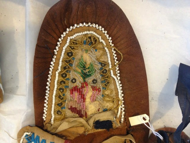 art conservation, native american bead work, restoration