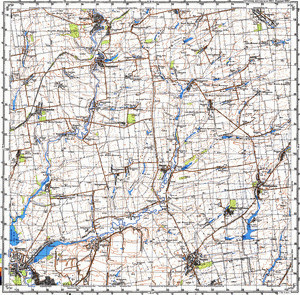 Map 100k--l36-009--(1987)