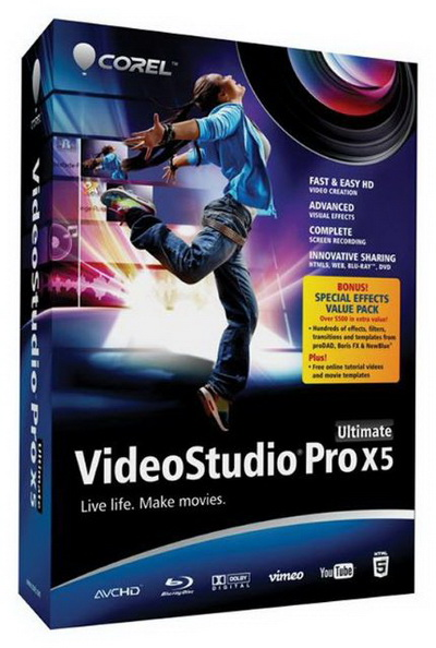 Corel VideoStudio Pro X5 Ultimate Multilanguage Incl Keymaker-CORE