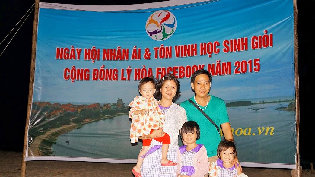 Gia đình ở Sài Gòn về tham gia
