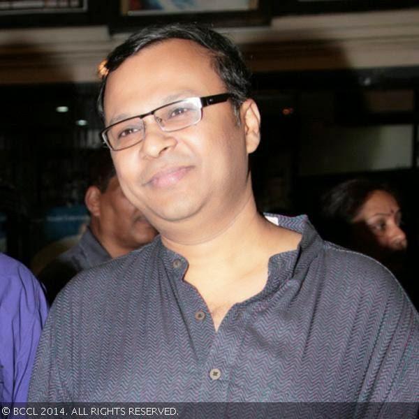 Atanu Ghosh at a Bengali movie ...