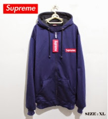 jaket supreme navy XL