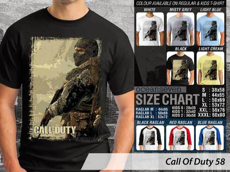 KAOS cod Call Of Duty 58 Game Series distro ocean seven
