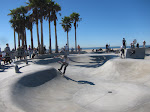 we watched some skaters for a bit