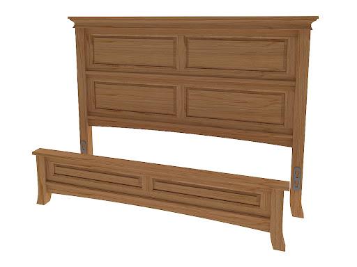 Glasgow platform bed solid wood platform bed in the for Beds glasgow