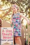 A-line Dress and pattern