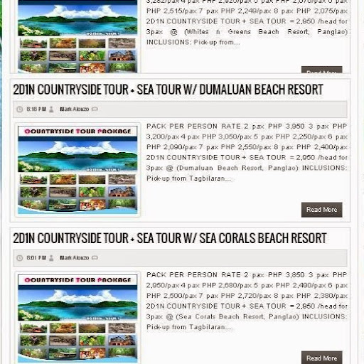 Bohol Countryside Tours