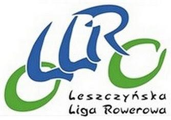 Logo Leszczyńskiej Ligi Rowerowej
