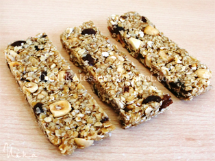 granola bars no-bake
