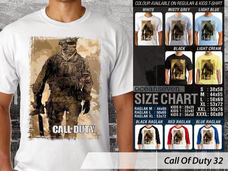 KAOS cod Call Of Duty 32 Game Series distro ocean seven