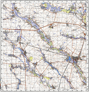 Map 100k--m36-065--(1989)