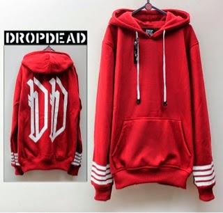 Jaket Dropdead Merah