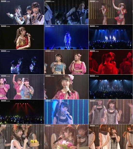 """(LIVE)(公演) NMB48 チームBII """"逆上がり"""" 市川美織の生誕祭 150212"""