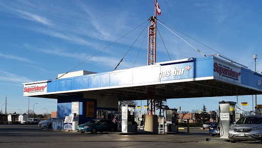 Superstore Gas Bar, 550 Kenaston Blvd., Winnipeg, MB R3N 2A1, Canada, Gas Station, state Manitoba