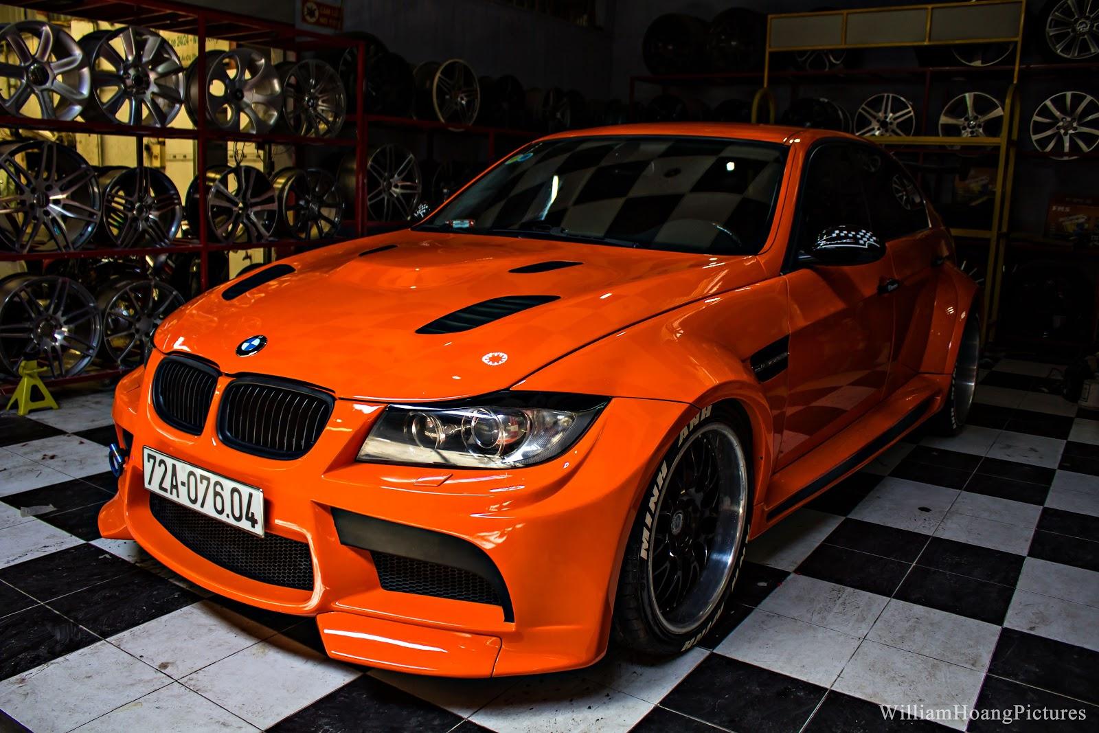 BMW M3 GTRS3 đời 2009 được độ lại body tại Carwash Cafe