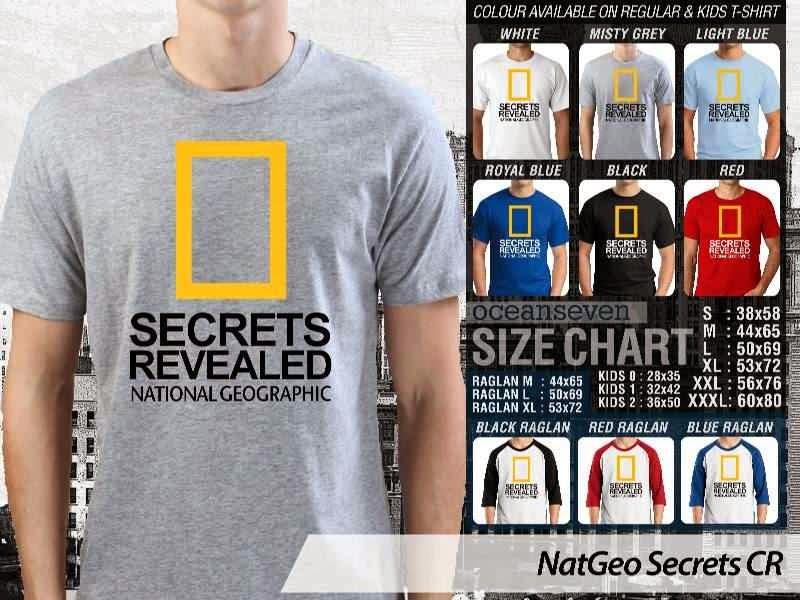 Kaos National Geographic NatGeo Secrets distro ocean seven