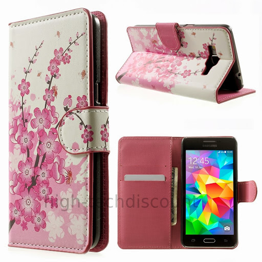 Housse etui coque portefeuille pour samsung g530h galaxy for Housse samsung grand prime