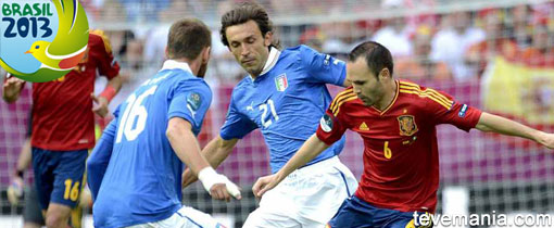 España vs Italia en Vivo - Copa Confederaciones 2013