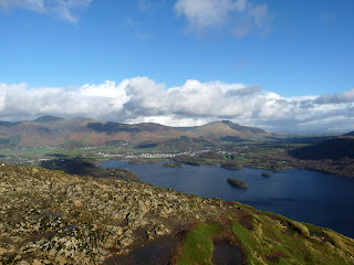 Another view from the summit of Catbells